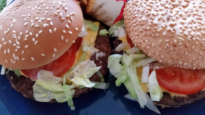 Glutenfreier Burger bei McDonalds